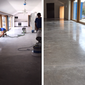 Commercial Internal Floor Restoration
